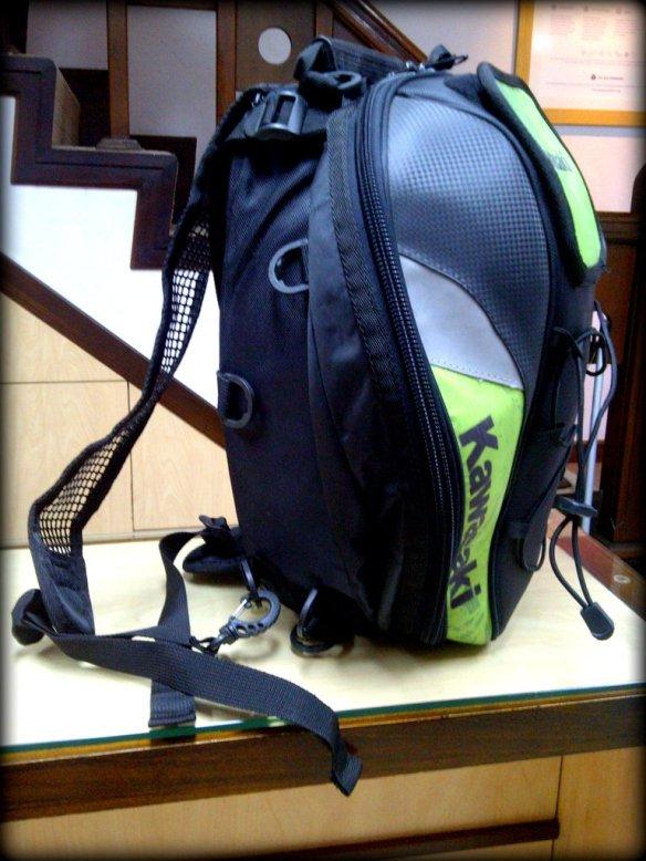 bisa dirubah menjadi backpack