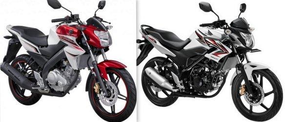 pertarungan akhir thn 2012 di kelas mid sport 150cc. Yamaha New Vixion Vs Honda Streetfire