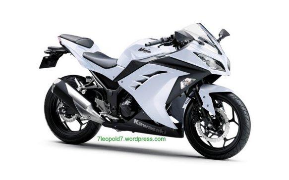 Ninja 250 FI white