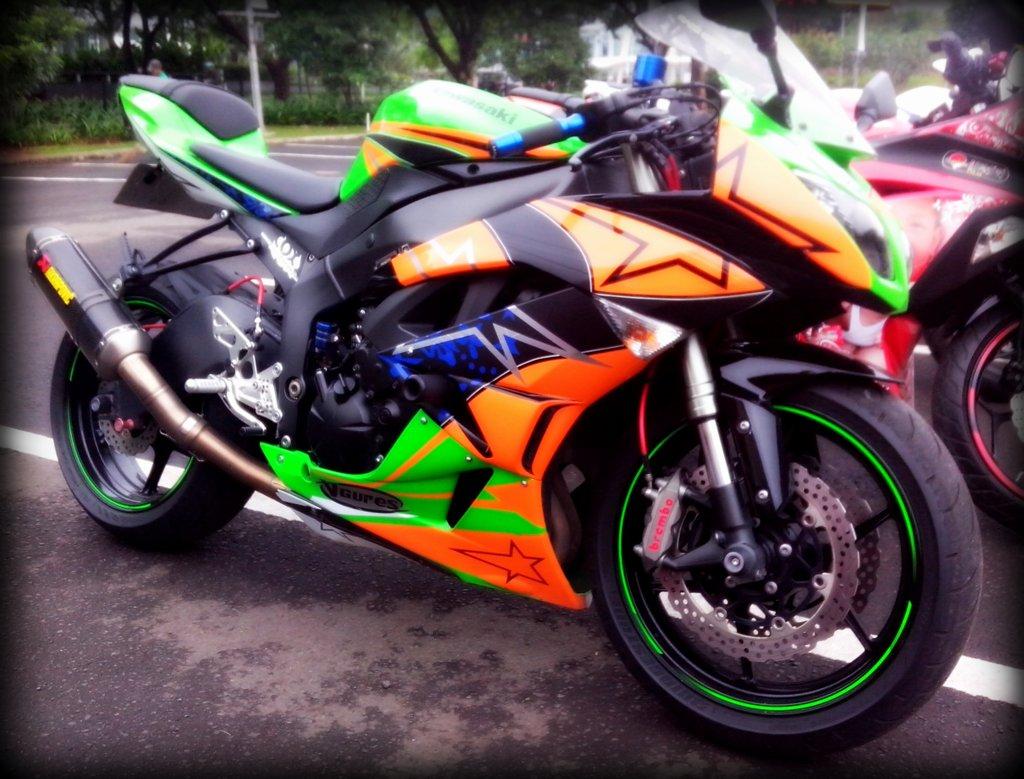 Harga Jual Jual Motor Kawasaki Zx6r Bekas Bursa Moge Bekas Forsale