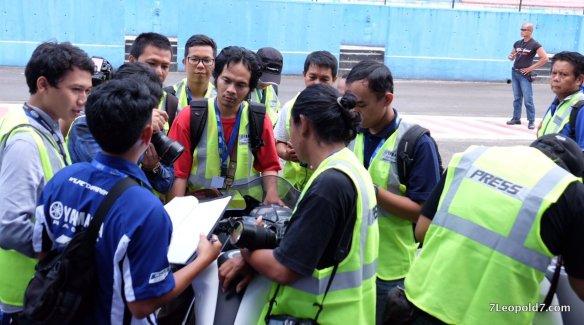Wartawan terlihat sangat tertarik mempelajari LVC. Foto: Istimewa