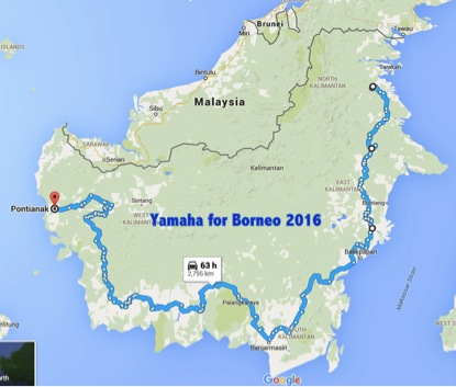yamaha for borneo