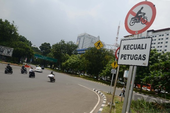 Larangan Sepeda Motor