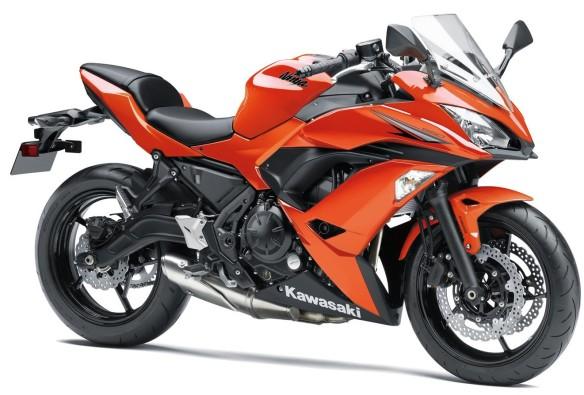 ninja 650 orange