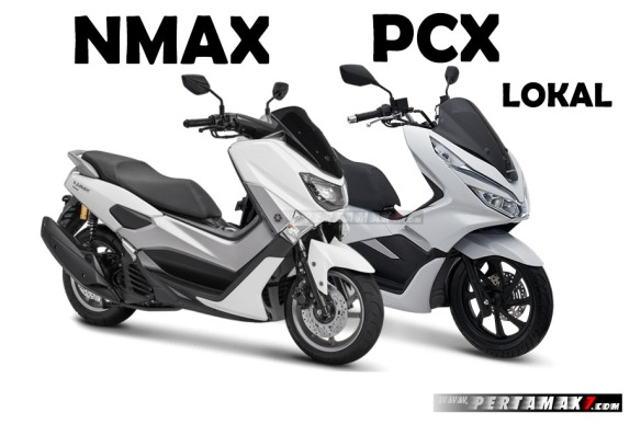 Komparasi-Honda-PCX-150-Lokal-VS-Yamaha-NMAX-155-VVA-Versi-2018-Close-Up.jpg