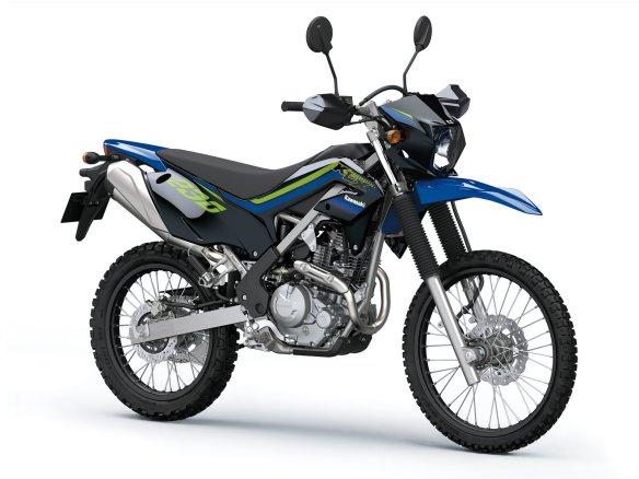KLX 230 (2) SE blue